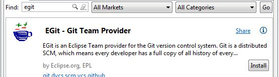 egit eclipse marketplace