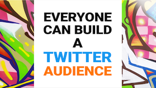 Everyone can build a twitter audience